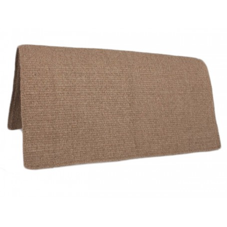 Light Brown Premium Wool Show Saddle Blanket