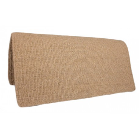 Tan New Zealand Premium Wool Show Saddle Blanket