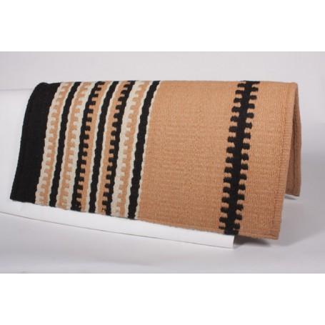 Peach W Design Show Saddle Blanket