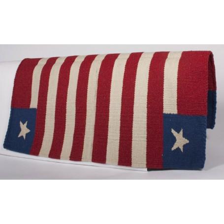 Patriotic Show Saddle Blanket