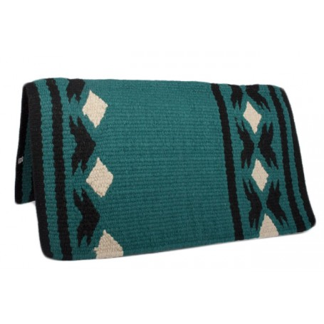 Jungle Green Premium Wool Show Saddle Blanket