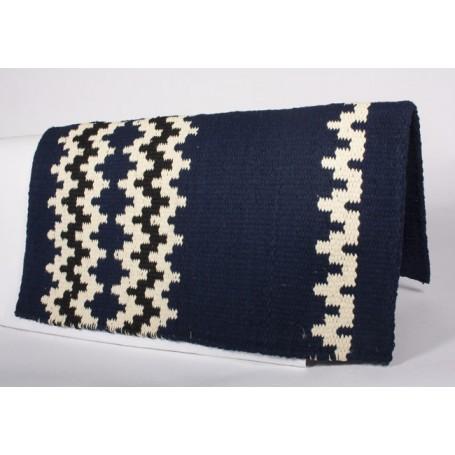 Navy Blue New Zealand Wool Show Saddle Blanket