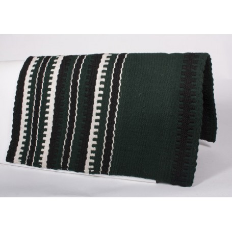 New Zealand Wool Green Show Saddle Blanket