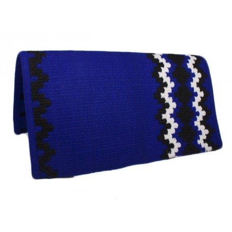 New Zealand Wool Blue Show Saddle Blanket