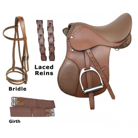 18 Havana Event Jumping Saddle Package