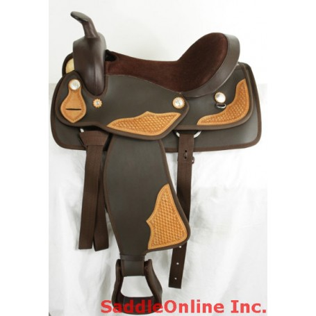 Beautiful Cordura Saddle W Hand Tooled Leather