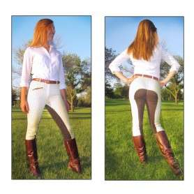 22 36 38 Plaid Full Seat Riding Ladies Breeches