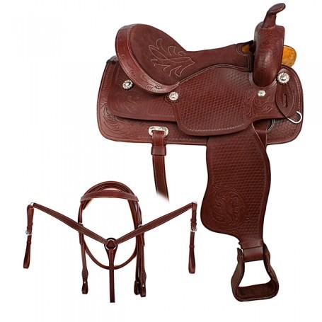Comfortable Western Pleasure Trail Horse Leather 15 16