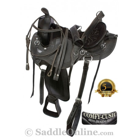 16 18 Amazingly Comfortable Black Trail Endurance Saddle
