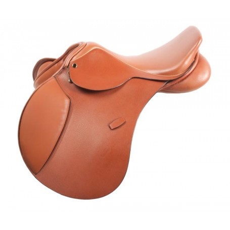 Royal English Pro Close Contact Havana English Saddle 17