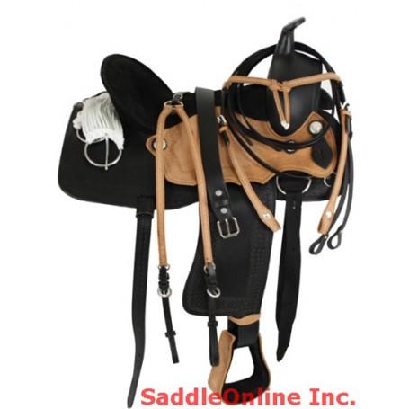 Fully Tooled Fancy Rawhide Saddle