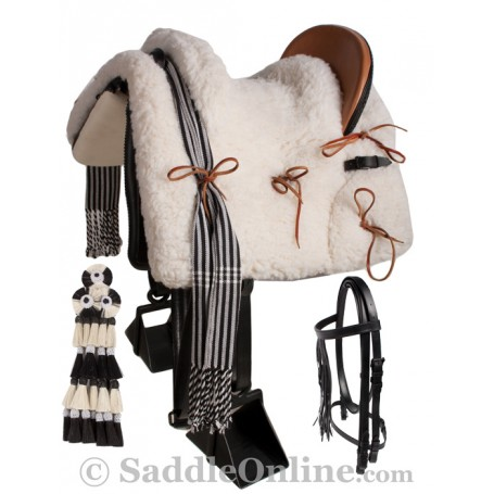 Spanish Vaquero Saddle Andalusian Horse Bull Fighting