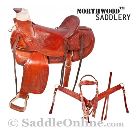 New 16 High Country Ranch Rancher Saddle & Tack