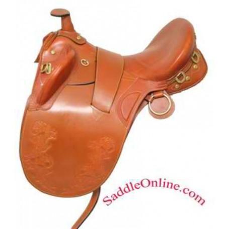 New 18 19 tan australian horse saddle