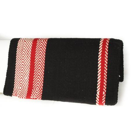 Premium Black Red White Geometric Pattern Show Blanket