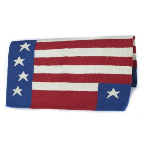 American Flag Premium Wool Show Blanket