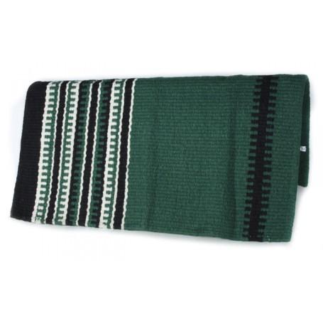 Pine Green White And Black Premium Show Blanket
