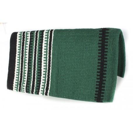 Pine Green White And Black Premium Show Blanket 34x36