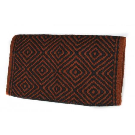 Brown And Black Diamond Patterened Premium Show Blanket