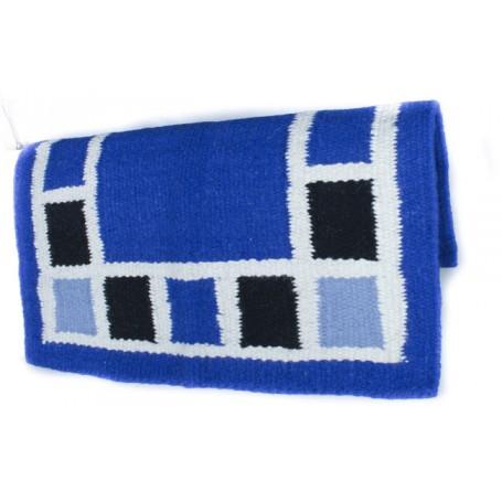 Blue Square Design Premium Wool Show Blanket