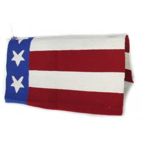 American Flag Patriotic Premium Wool Show Blanket