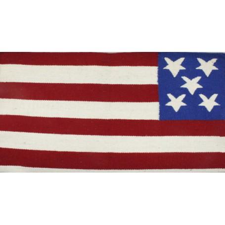 American Flag Premium Show Horse Saddle Blanket