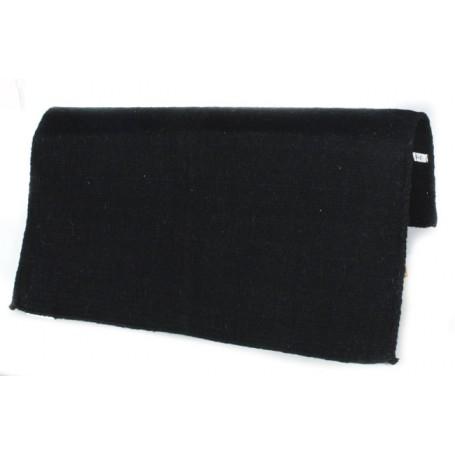 Solid Black Premium NZ Wool Show Blanket