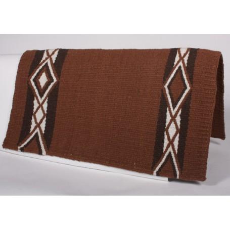 Brown Black And White Diamond Design Premium Show Blanket