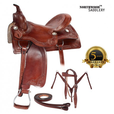 New Pro Cutter Work Ranch Pleasure Saddle 16