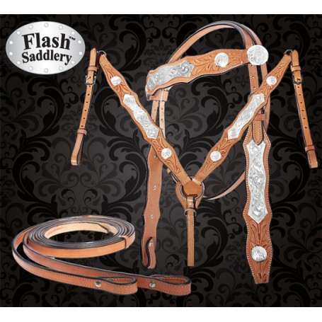 Shine On Elite Show Western Horse Tack Set By Flash