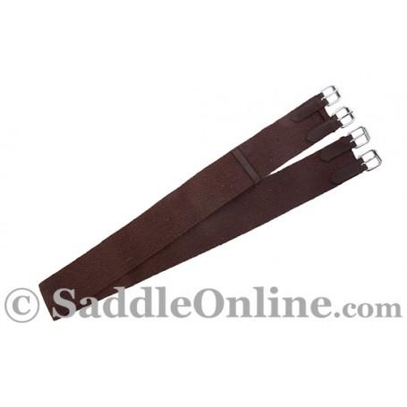Brown Nylon English Saddle All Purpose Girth 50