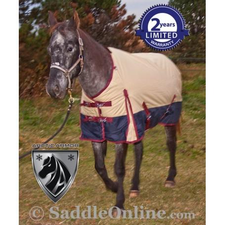 Tan Waterproof Turnout Winter Horse Blanket 1200D 70 80