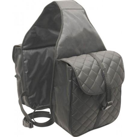 Brown Western Nylon Abetta Saddle Bags