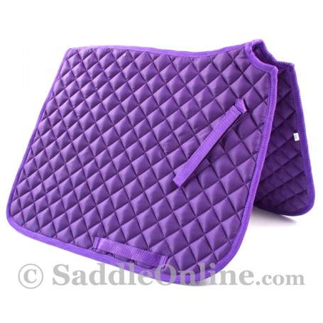 Premium Padded All Purpose English Purple Horse Saddle Pad