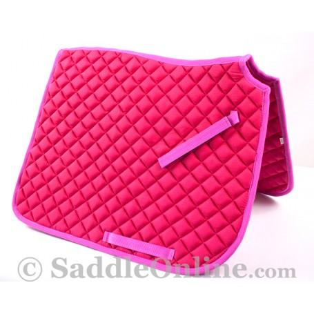 Premium Padded Pink All Purpose English Horse Saddle Pad