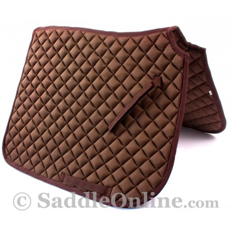 Premium Padded Brown All Purpose English Horse Saddle Pad
