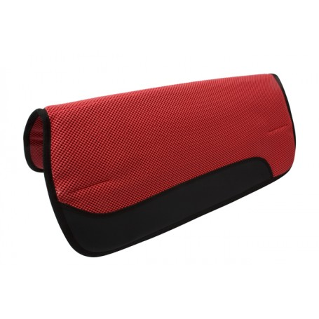 Red Air Flow Comfortable Shock Absorbing Western Saddle Pad