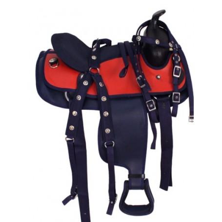 NEW CORDURA YOUTH 12 PONY HORSE WESTERN SADDLE TACK