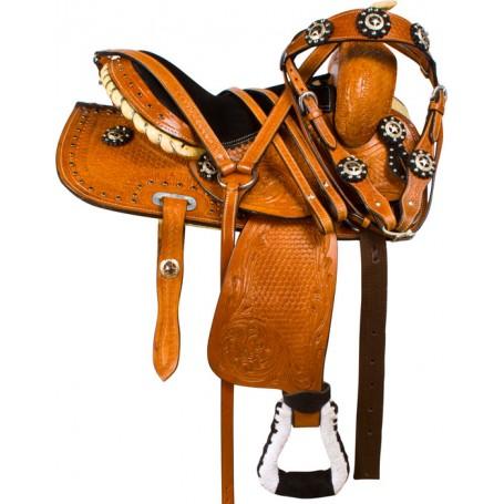 Western Mini Miniature Youth Kids Show Horse Saddle Tack