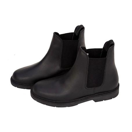 New Women Black Paddock Jodphur Jod Boots