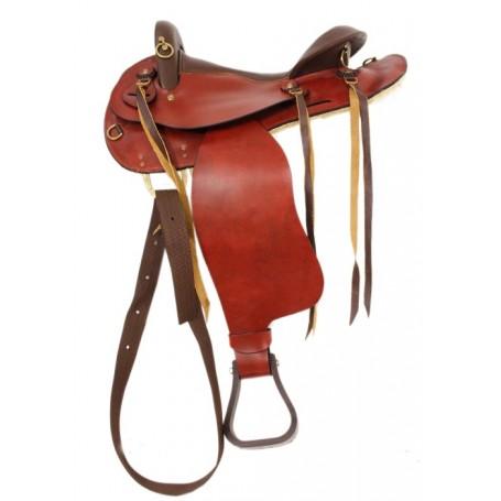 New 17 Tan Endurance Saddle w/o Horn