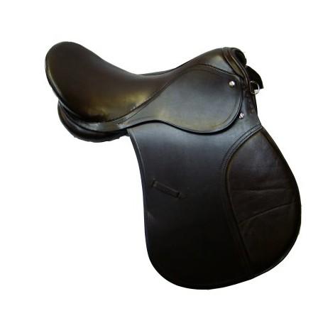 NEW 18 ALL PURPOSE BROWN ENGLISH HORSE SADDLE