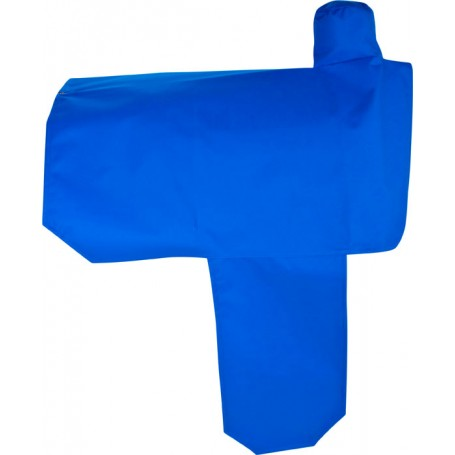 Blue Nylon Waterproof Western Saddle Cover With Fenders