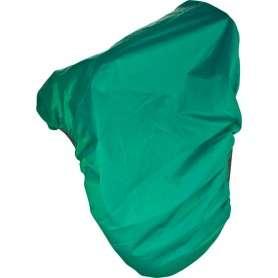 Green Nylon Waterproof All Purpose English Saddle Cover