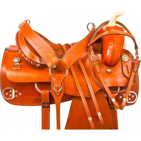 Rawhide Training Western Trail Horse Saddle Tack 15 16