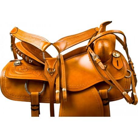 Chestnut Western Pleasure Western Horse Saddle Tack 16