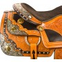 Beautiful Silver Gold Western Horse Show Saddle Tack 16