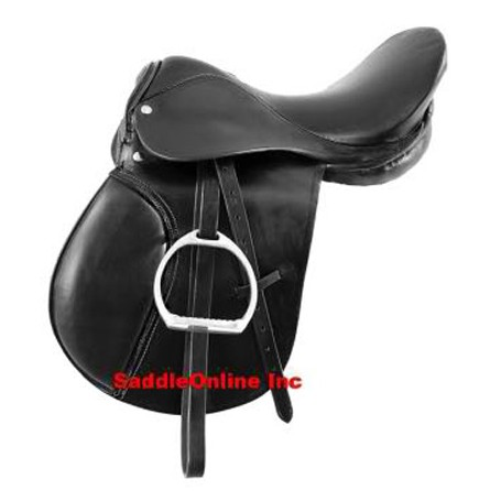 NEW  BEAUTIFUL JUMPING SADDLE ENGLISH HORSE SADDL