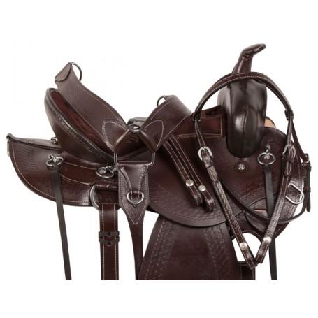 Comfy Pleasure Trail Endurance Horse Saddle Tack 15 18