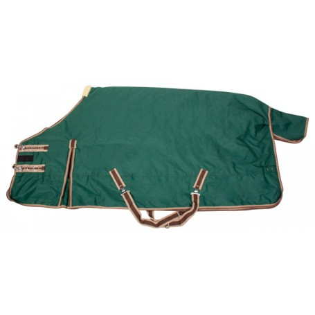 Green 1200D Waterproof Turnout Winter Horse Blanket 82